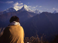 nepal viewpoint of the Himalayas