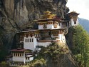 View of a Monastery in Bhutan, Paro Tiger's Nest