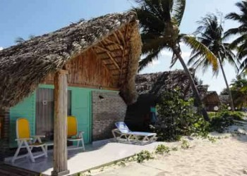 Bungalow on the beach