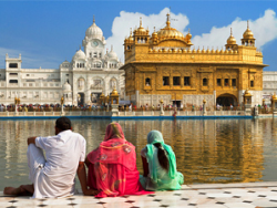 Temple at Amritsar in India