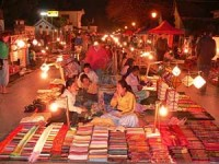 Luang Prabang's night market