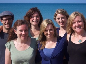 Travel specialists smiling