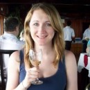 Rickshaw Nepal Travel Specialist toasting with a glass of wine