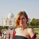 Travel specialist Kate at Taj Mahal, India