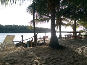 One of the stops along the Rio Preguicas in Brazil